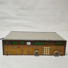 Gw Gsg 120 Mono Fmam Signal Generator 100khz110mhz 1999 Dbu 50ohm Led