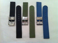 Superior Quality Nylon  Watch straps 2 Piece ,Military , Nato Style,