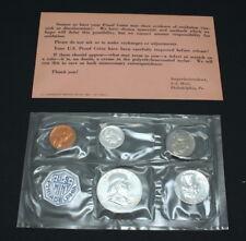 1961 U.S. Philadelphia Proof Coin Set with Envelope