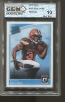 2018 Nick Chubb Donruss Optic #158 Gem Mint 10 RC Rookie Cleveland Browns