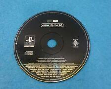 SONY PLAYSTATION 1 PS1 JUEGO PAL SOLO DISCO - EURO DEMO 61