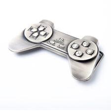 Boucle de ceinture en Métal MANETTE CONSOLE PLAYSTATION PS1 PS2 PS3 rétro gaming