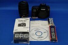 Canon EOS 80D EF-S 18-135mm IS USM Digital Camera Lens Kit Japan Domestic New