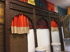 18c Triple Arch Columns India Verandah Archway Indian Hand Carved Architectural