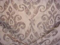 3-3/4Y GP J Baker LB50065 Vencenzo Burnt Umber Spanish Damask Upholstery Fabric