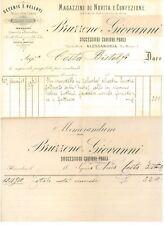 BRUZZONE GIOVANNI PRIOLI CORREDI SPOSA SETA VELLUTO ALESSANDRIA 1910 MODA ITALIA
