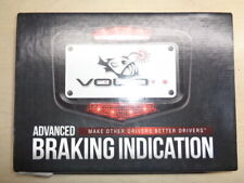 Volo License Plate  Frame Carbon With Led Brake Light   # 20300875