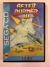 After Burner 3 - Sega CD - Replacement Case - No Game