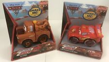 Disney Pixar Cars 2 Lightning Mcqueen & Mater Shake And Go * New In Package