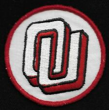 Vintage OKLAHOMA SOONERS College University Sports Patch OU New Old Stock