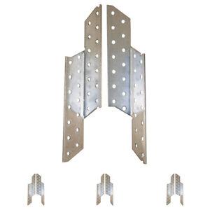 Sparrenpfettenanker 10 Stk. verzinkt Pfettenanker Holzverbinder links rechts