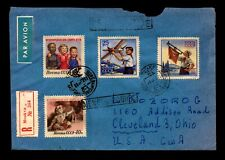 Russia 1958 Airmail Cover to USA - L12880