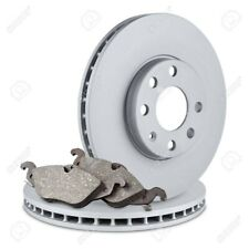 VAUXHALL CORSA C 1.2 16V SXi FRONT 2 BRAKE DISCS AND PADS SET NEW 240mm