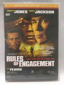SAMUEL JACKSON RULES OF ENGAGEMENT Action Adventure Movie DVD