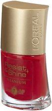 L'Oréal L'Oreal Rouge Red Resist & Shine Titanium Nail Polish #155 Rockin Rose