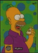 1994 Skybox SIMPSONS Wiggle Card #1 Homer Simpson NM