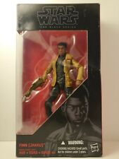 "Hasbro Star Wars Black Series 6"" Action Figure - Finn (Jakku) #01 DAMAGED BOX"