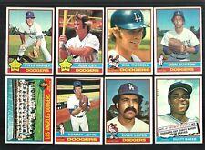 1976 TOPPS LOS ANGELES DODGERS TEAM SET (31) SUTTON GARVEY  EXMT-EXMT+  *910207