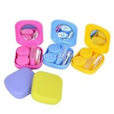 Homehold Travel Portable Contact Lens Storage Kit Holder Case with Mirror Box