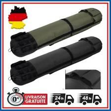 Rutentasche Angeltasche Rucksack Rutenfutteral Schultergurt für 5 Angelruten DHL