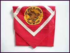 Rare STAFF Falcons Troop 861 Patch w/ Red / White Neckerchief  STAFF BOY SCOUTS