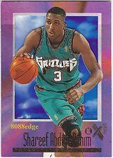 1996-97 SKYBOX E-X2000 ROOKIE CARD:SHAREEF ABDUR-RAHIM #76 GRIZZLIES RC ALL-STAR