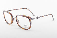 MONCLER MC010-V04 Tortoise Brown Titanium Eyeglasses MC 010-V04 49mm