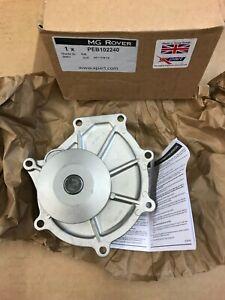 GENUINE MG ROVER WATER PUMP MG ZS ZT V6 KV6 ROVER 75 2.0 & 2.5 PEB102240 / 1
