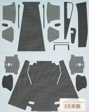1/8 McLAREN MP4/4 DUCT CARBON DECALS for D'AGOSTINI SENNA