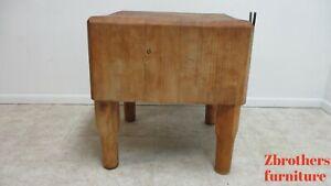 Butcher Block Table In Tables For Sale In Stock Ebay