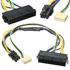 ATX 24 POLOS A PLACA BASE 2 puertos pin 6 Suministro Eléctrico Cable para HP