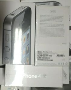 Brand new factory sealed & unlocked Apple iPhone 4s 16GB Black RARE never opened