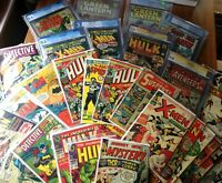 SMASHING Grab Bag lot, Incredible Hulk, Captain America, Wolverine, X-men 181