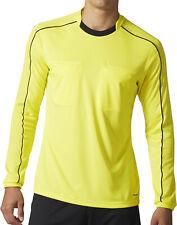 adidas Referee Mens Long Sleeve Jersey - Yellow