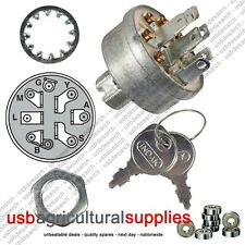 IGNITION SWITCH NEXT DAY DELIVERY MURRAY HAYTER MOWERS WITH KEYS RIDE ON 92556