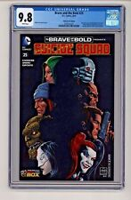 DC's Brave and the Bold #25 Suicide Squad Comicon Box Sciver Variant CGC 9.8