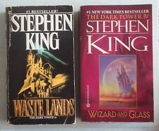 Stephen King THE WASTE LANDS / WIZARD AND GLASS (The Dark Tower ) Signet PB