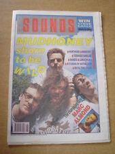 SOUNDS 1990 JUNE 30 MUDHONEY MARC ALMOND NORTHSIDE TEENAGE FANCLUB DANZIG