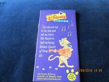 1995 Disney Leaflet Advertising Videos Aladdin Dumbo etc + Aristocats Stickers