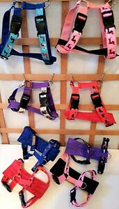 Yuppy Yaps Mini Dachshund dog harness and/or sets, 2 sizes, assorted colours