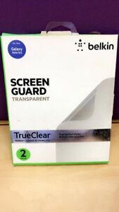 """Belkin SCREEN GUARD TRANSPARENT For  Galaxy Note 8.0"""" 2 PACK"""