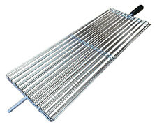 Stainless steel Cypriot BBQ rotisserie basket Clamp - Large