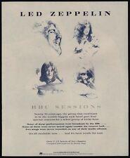 1997 Led Zeppelin Bbc Sessions Album Release Vintage Advertisement