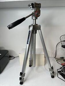 "Velbon VE-3C Professional Aluminum Tripod 22""-60"" Camera Video Photo Adjustable"
