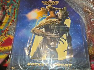 Hot Toys Rocket e Hot Groot Guardiani Della Galassia Figure MM254