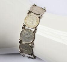 Münzarmband Silber Silbermünzen 10 Cent Niederlande 1912-1919 Wilhelmina
