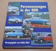 Personenwagen in der DDR von Achim Gaier Puppchen Simson Wartburg 312 353 RS1000