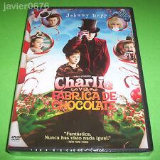 CHARLIE Y LA FABRICA DE CHOCOLATE DVD NUEVO Y PRECINTADO