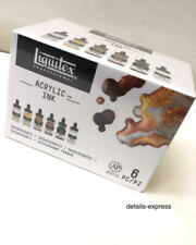 Liquitex Acrylic Ink - Iridescent Metallic Colours - Set of 6 x 30ml
