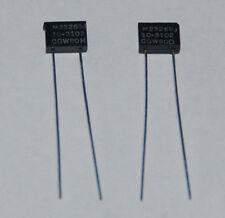 M23269J/10-3102 Miliatry Glass Capacitor 120pF/300V -2ea.